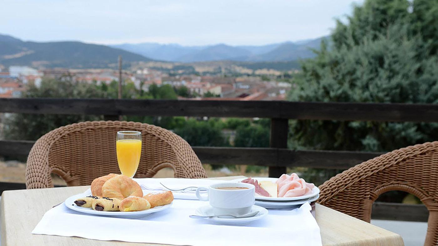 Hotel Mirador de Gredos - Desayuno