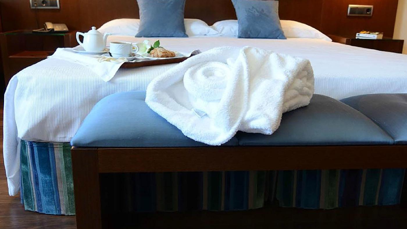 Hotel Mirador de Gredos - Detalle habitación