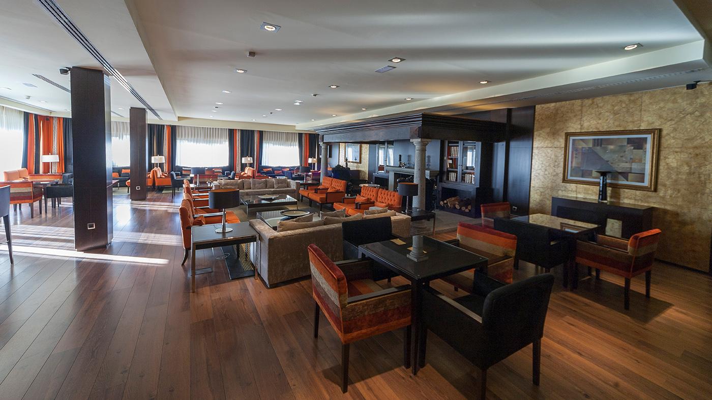 Hotel Mirador de Gredos - Salón principal
