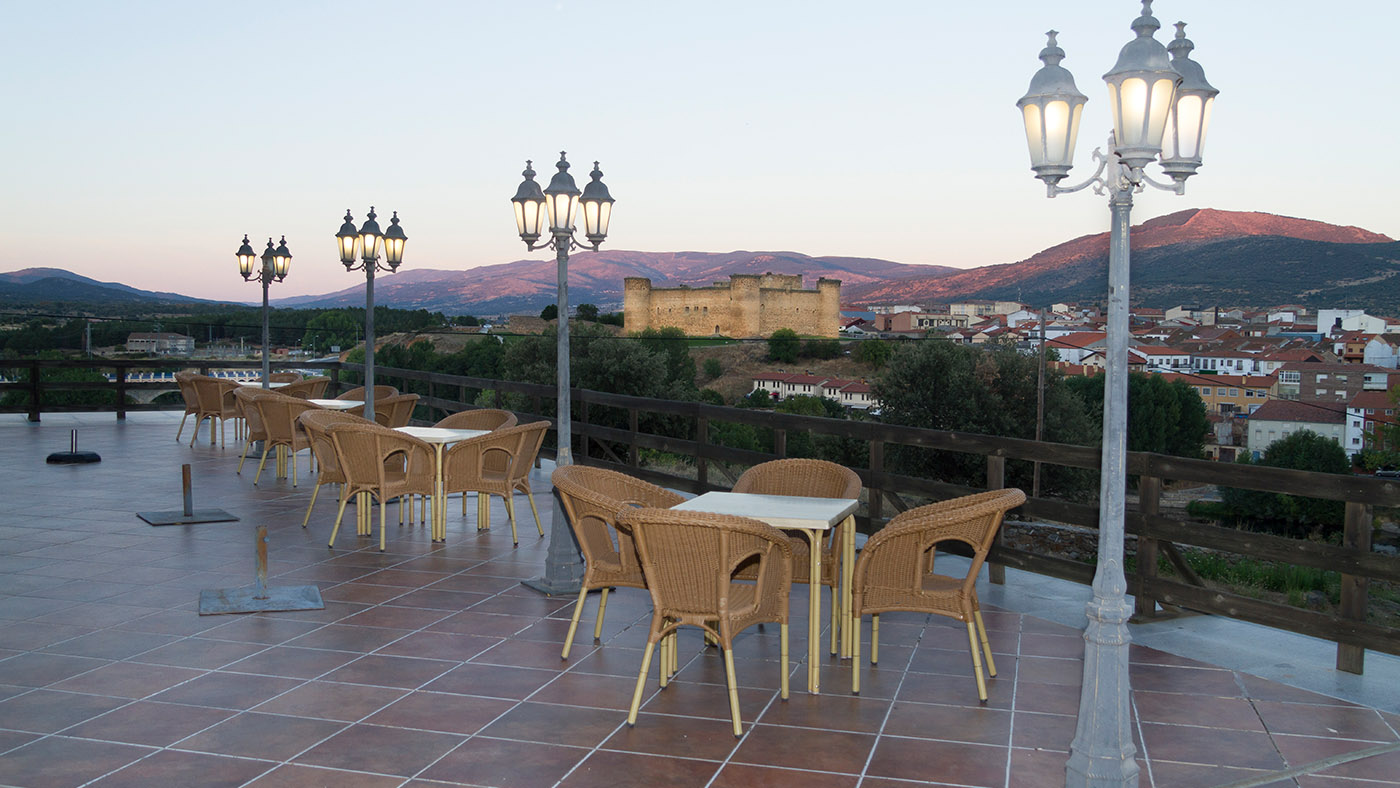 Hotel Mirador de Gredos - Terraza