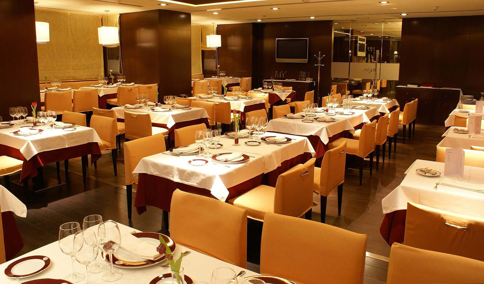 Restaurante Hotel Mirador de Gredos - Comedor noche