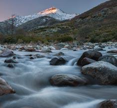 Río muy caudaloso de Gredos