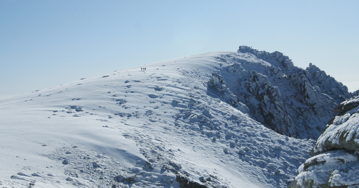 Rutas nieve Gredos