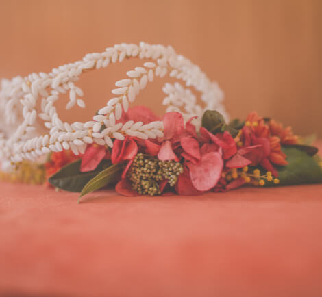 Tocado de novia especial hecho para boda Hotel Mirador